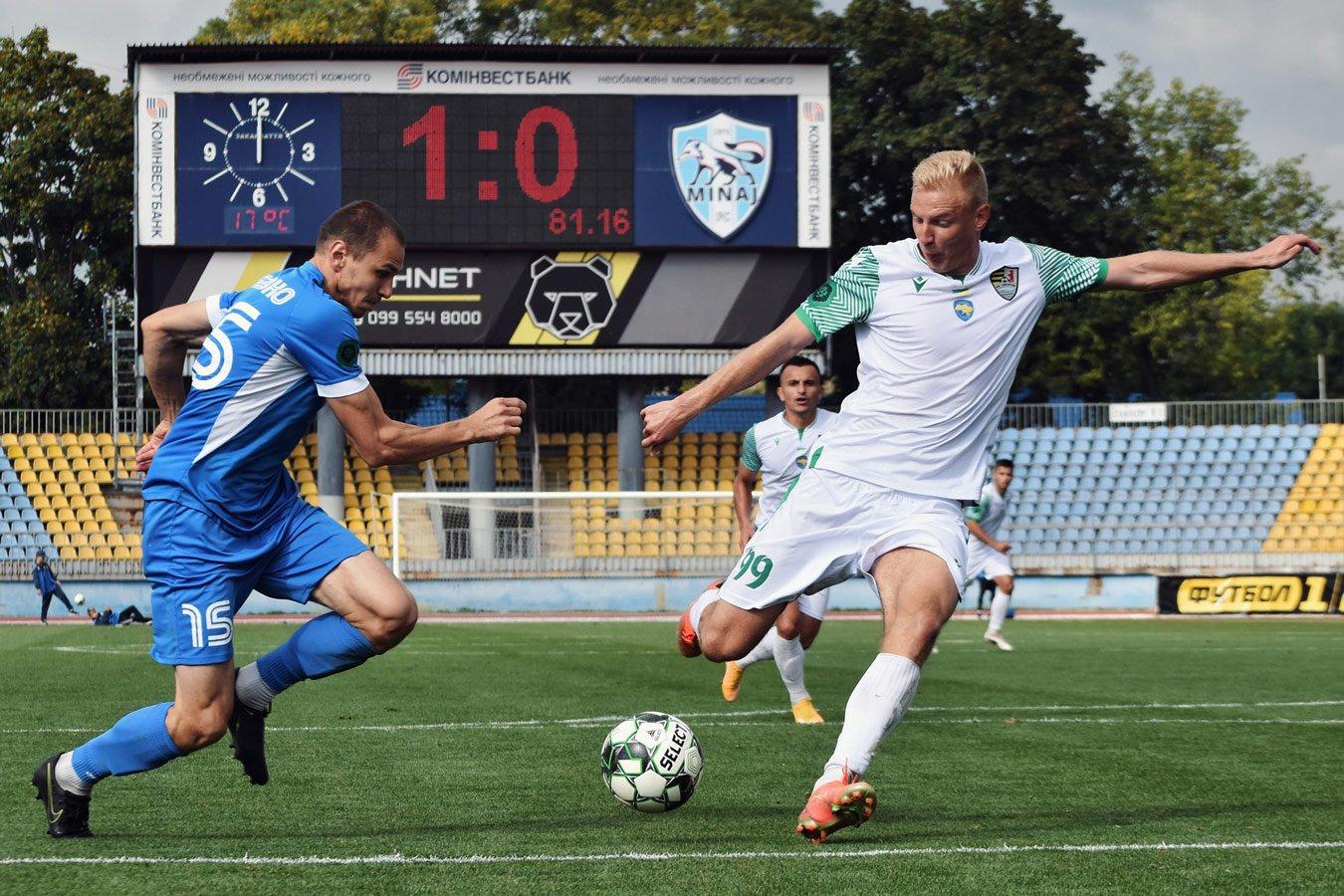 На праздновавшего гол в ворота своей команды украинского футболиста завели дело