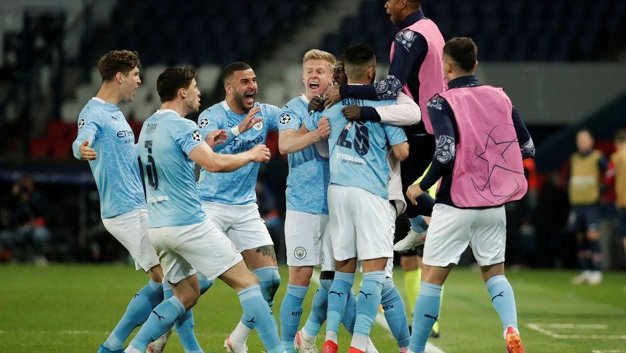 'Манчестер Сити' обыграл 'ПСЖ' и впервые в своей истории стал финалистом Лиги чемпионов