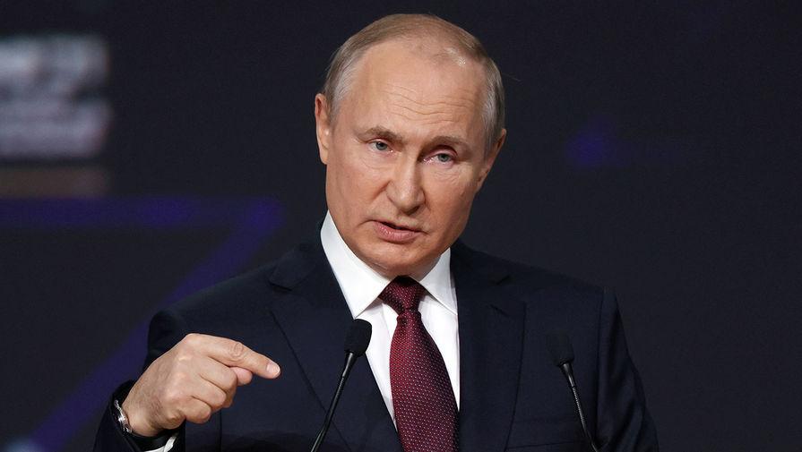 Путин поручил разработать программу поддержки молодежного предпринимательства