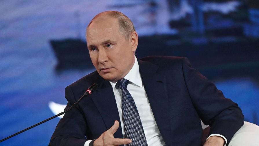 Путин призвал сохранить макроэкономическую стабильность
