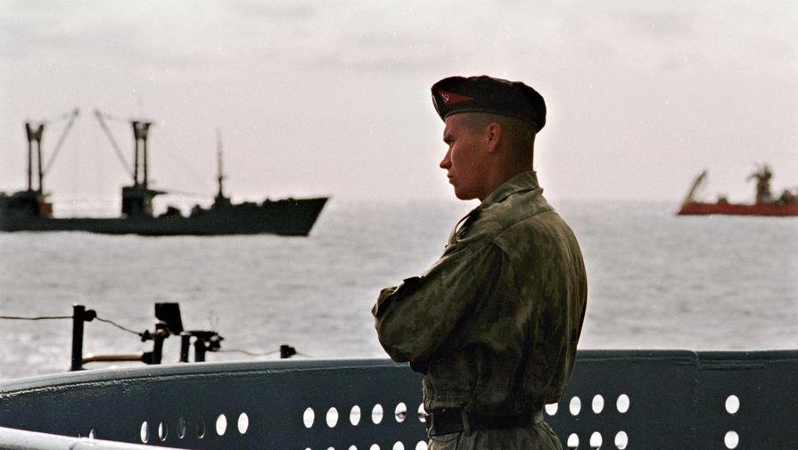 Американский крейсер 'Монтерей' вошел в Черное море