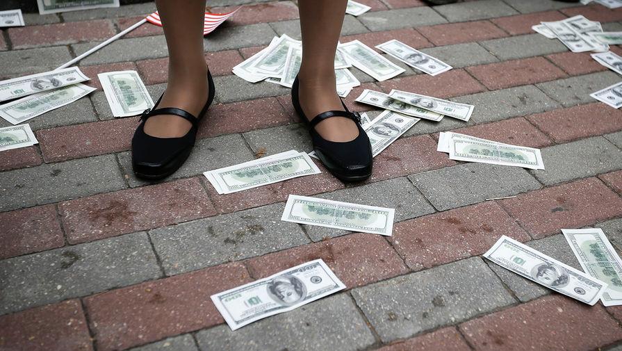 В Белоруссии наблюдается сильный отток валюты с вкладов