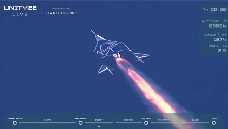 В Virgin Galactic заявили о переносе старта коммерческих полетов