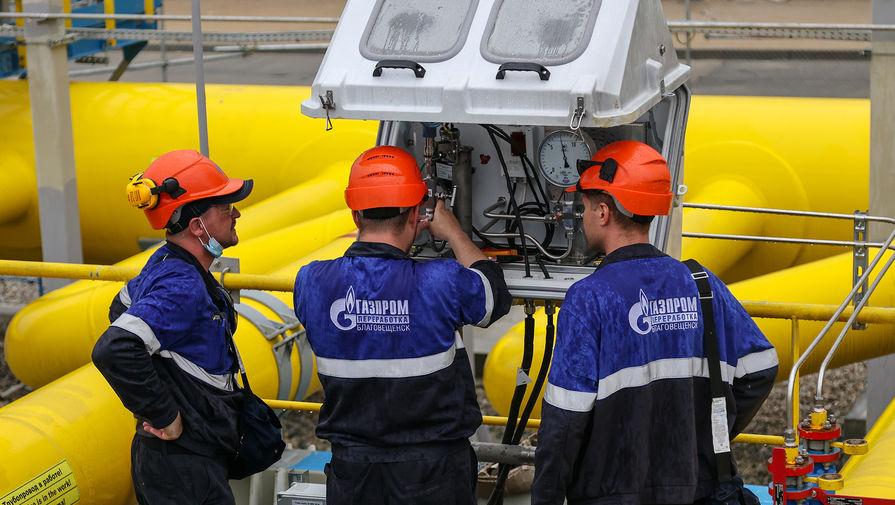 Доходы 'Газпрома' от экспорта газа резко возросли