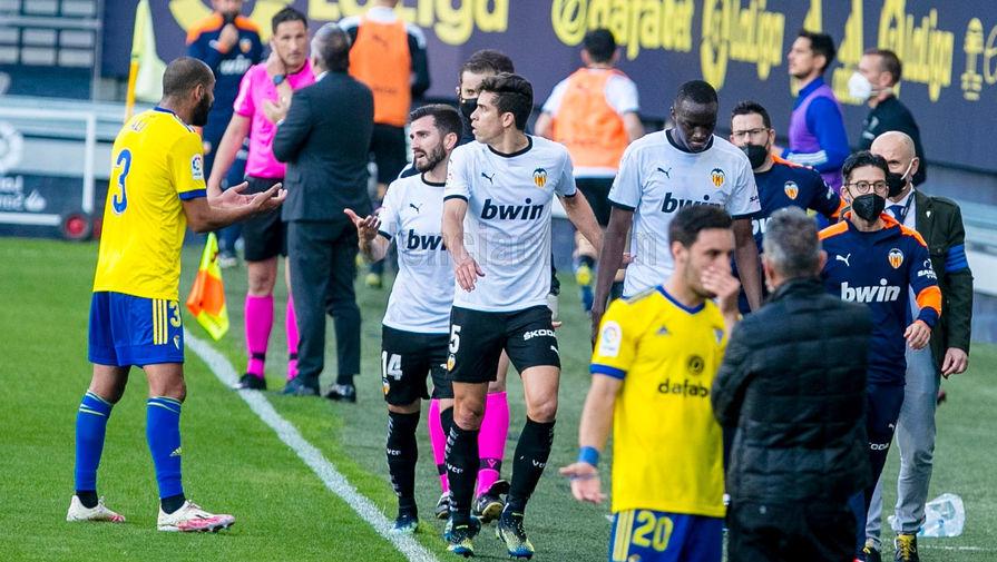 Игрок 'Валенсии' назвал Ла Лигу сообщником расистского скандала в матче с 'Кадисом'