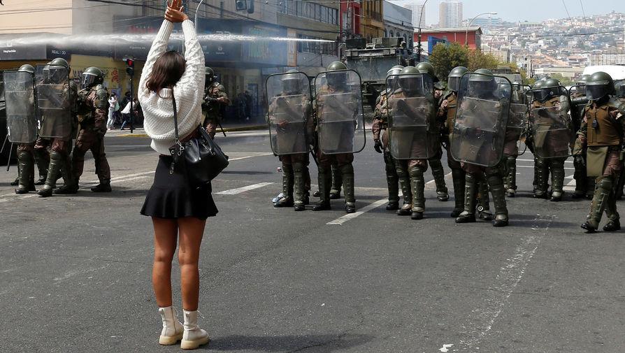 В Чили вспыхнули беспорядки