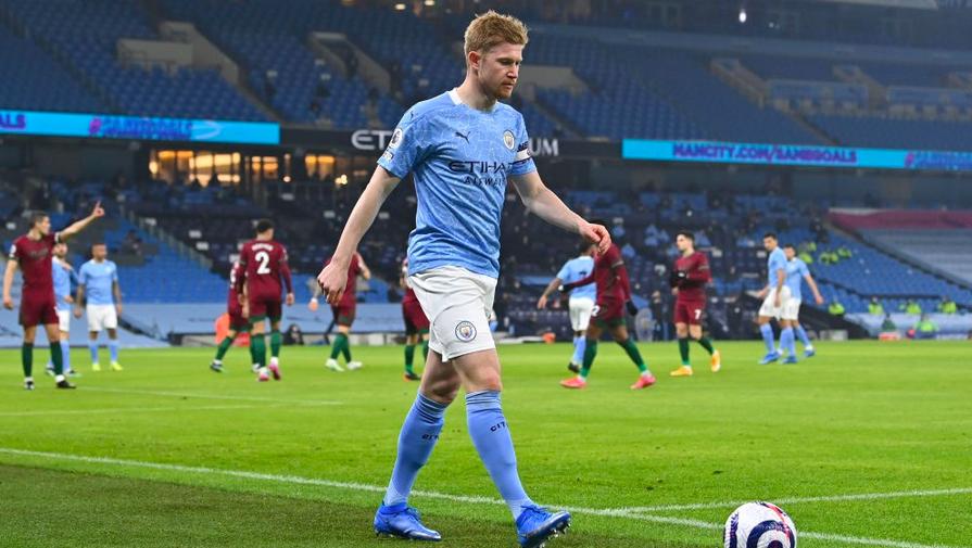 'Манчестер Сити' гарантировал себе участие в Лиге чемпионов