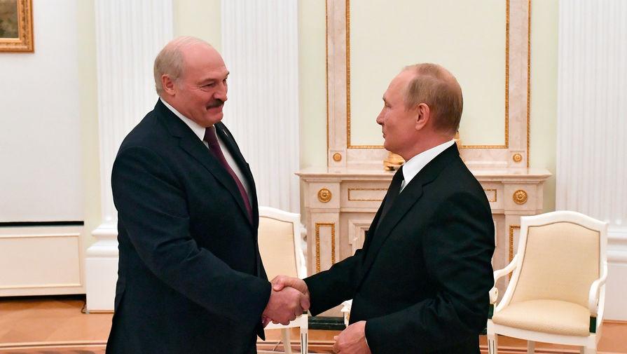 Лукашенко и Путин высказались о единой валюте Белоруссии и России