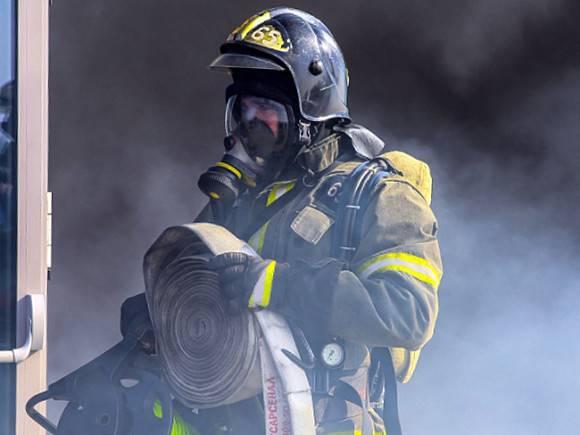 Загорелся спорткомплекс «Атлант-Косино» в Москве