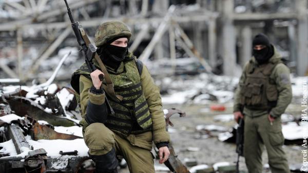 На северной окраине Донецка в районе аэропорта началась перестрелка