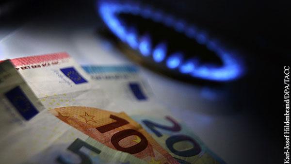 Цена газа в Европе превысила 800 долларов за 1 тыс. кубометров