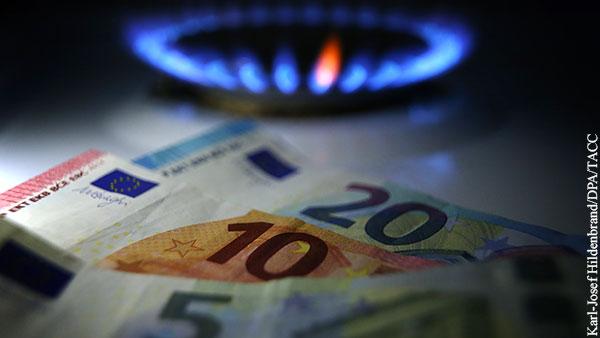 Цена газа в Европе впервые в истории превысила 840 долларов за 1 тыс. кубов