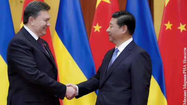В мире: Киев вспомнил о покровительстве Китая назло Западу
