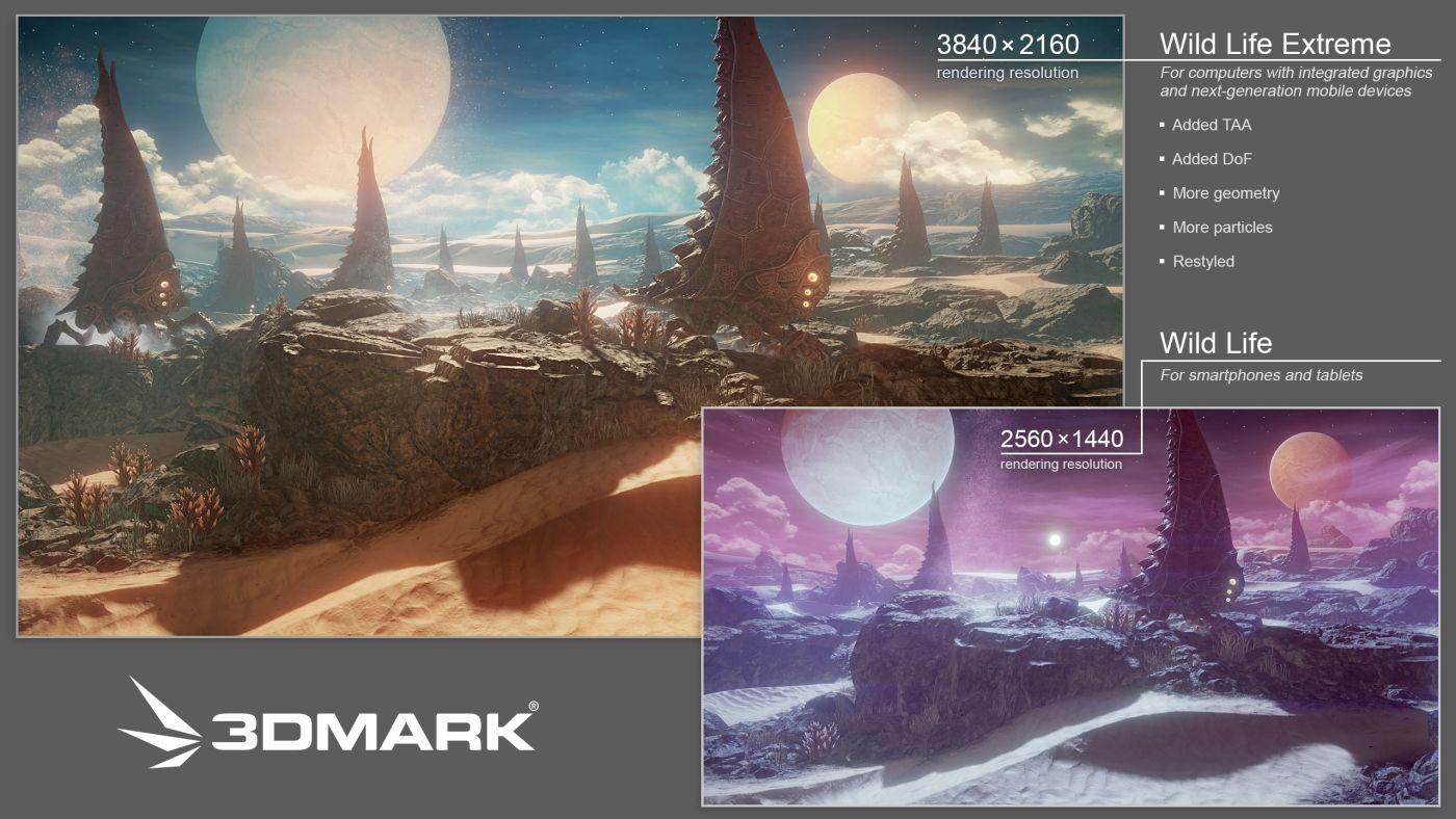 3DMark Wild Life Extreme доступен на всех платформах