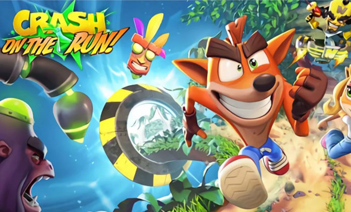 Crash Bandicoot: On The Run выйдет на Android и iOS в марте
