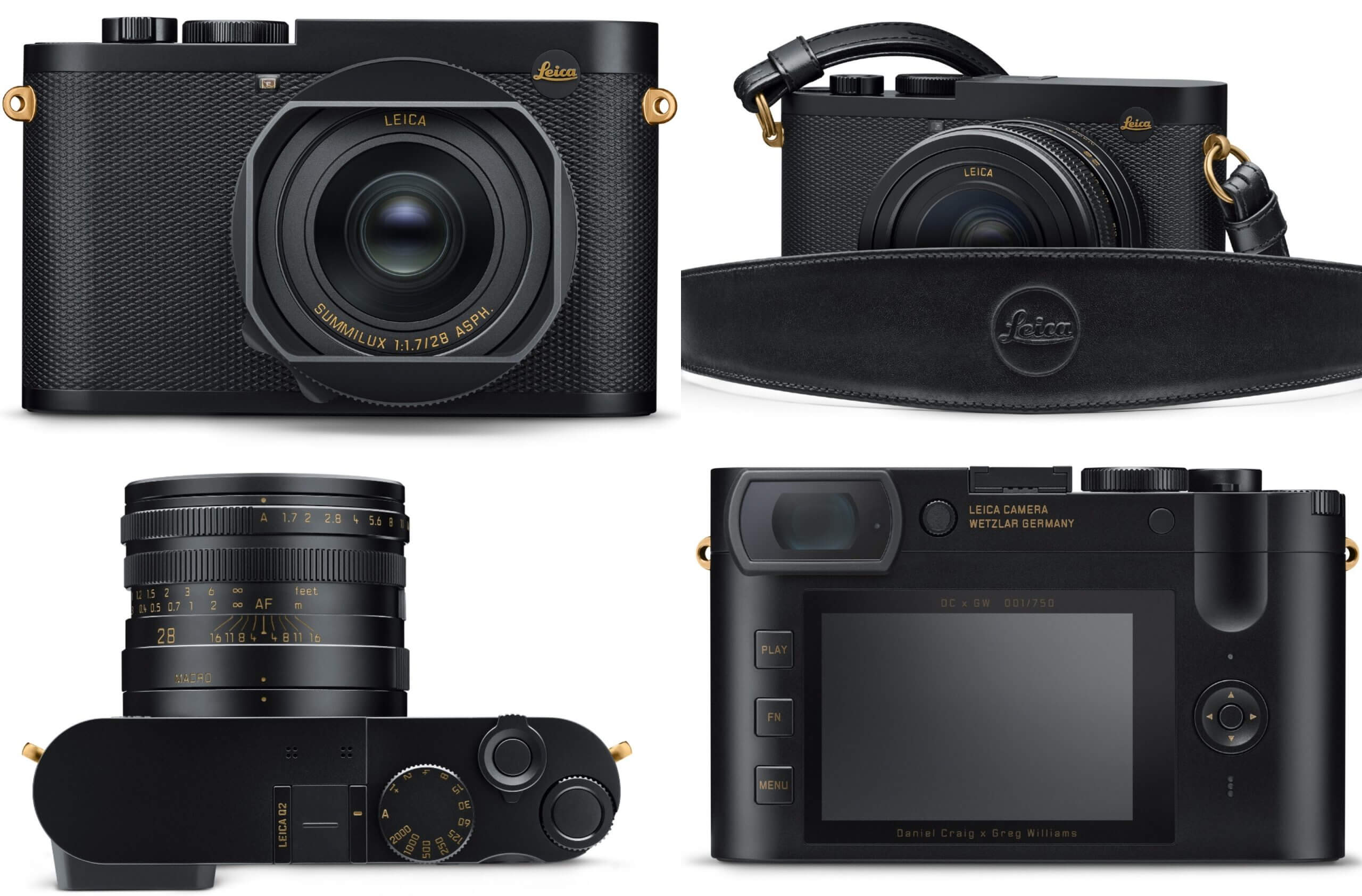 Leica выпустила камеру Q2 Daniel Craig x Greg Williams за $6995