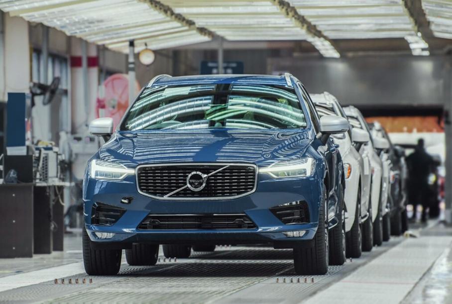 Volvo выкупит у Geely долю в совместных предприятиях в Китае