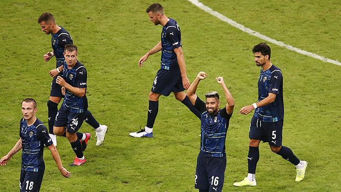 «Сочи» крупно победил «Кешлю» в квалификации Лиги конференций