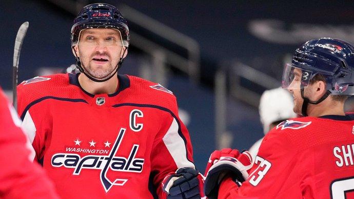 Овечкин вышел на единоличное пятое место по количеству голов в НХЛ