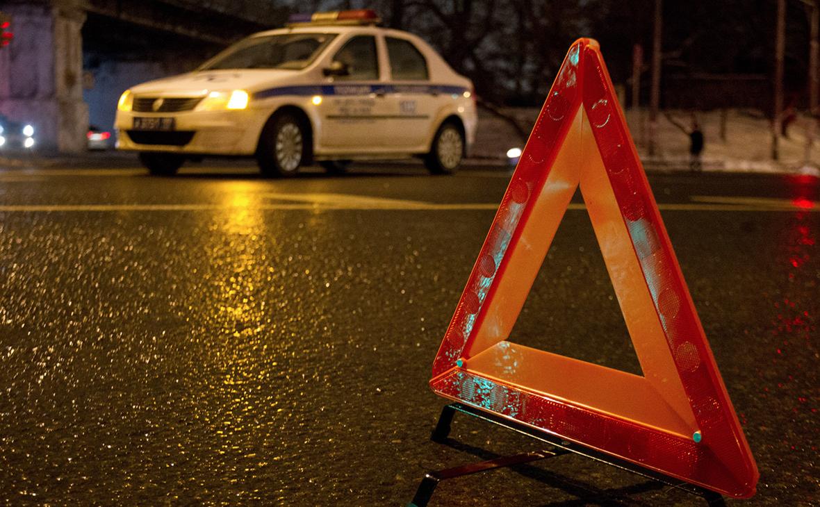В Подмосковье один человек погиб после столкновения «КамАЗа» с маршруткой