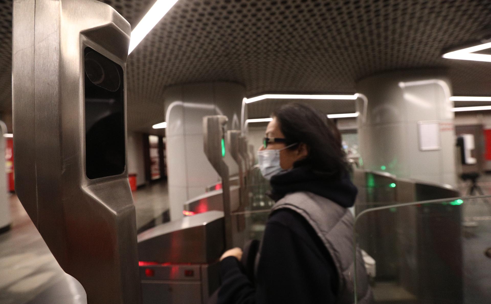 В Москве на всех станциях метро заработает система оплаты лицом