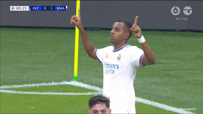 «Реал» вырвал победу у «Интера» (1:0) на 89-й. У Камавинга ассист