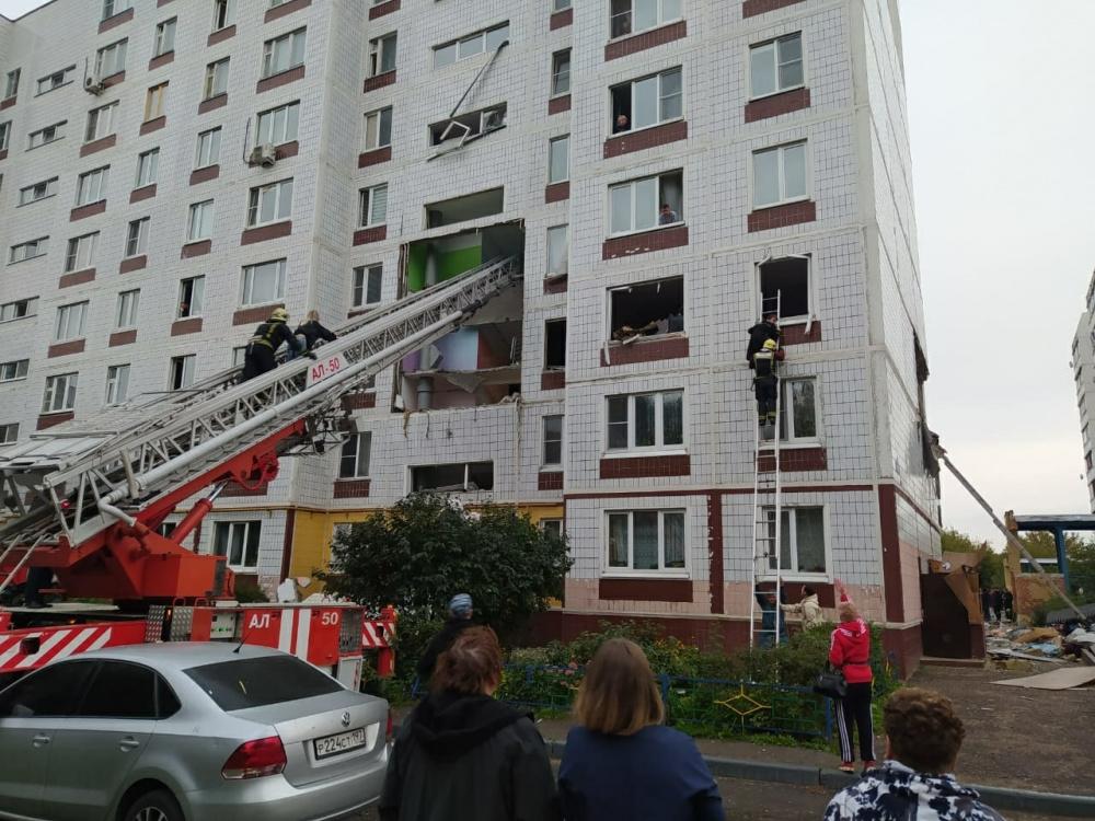 Причиной взрыва газа в многоквартирном доме в Ногинске стало плохое обслуживание труб