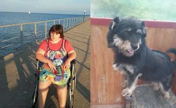 «Это травма ребёнку»: Недовольные соседи девушки-инвалида потребовали усыпить ее щенка