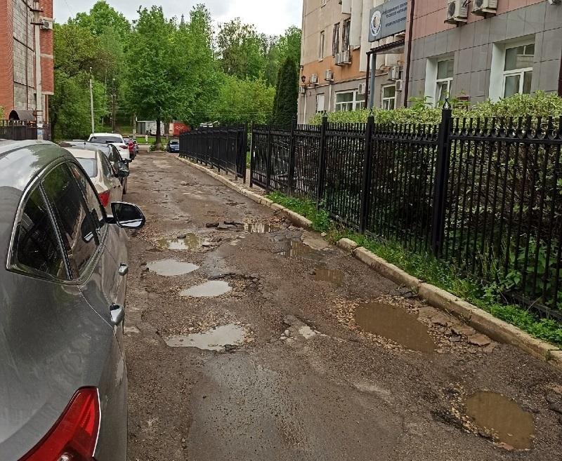 Прифронтовой Смоленск. Горожане возмущены состоянием дорог