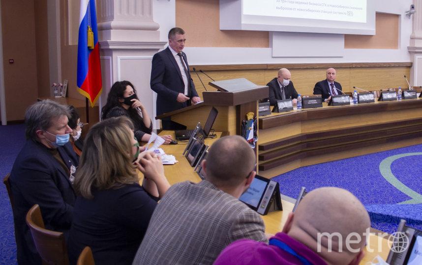 Работа мэра за 2020 год удовлетворила депутатов новосибирского горсовета
