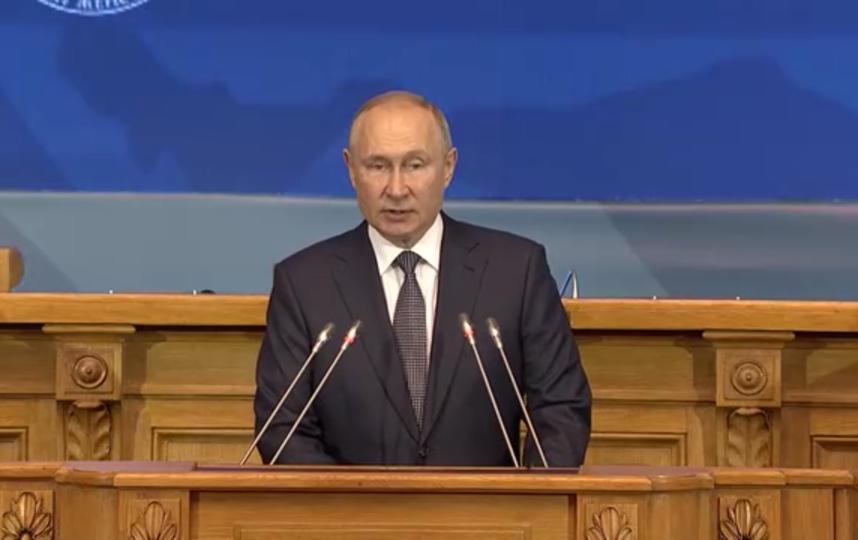 Владимир Путин высказался о традиционных семейных ценностях и женских ролях в современном обществе