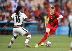 Де Брёйне – в стартовом составе сборной Бельгии на матч с Италией