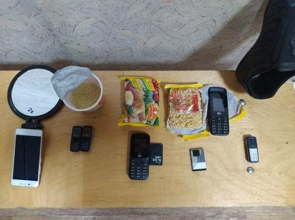 Мобильники в китайской лапше пытались передать в СИЗО на Ставрополье